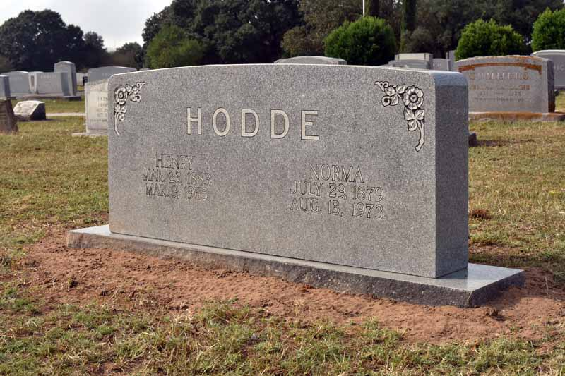 Texas Gravestone Conservation - Services & Examples